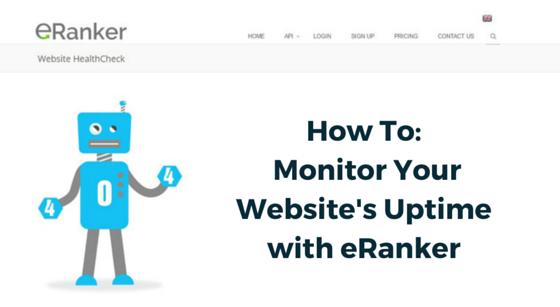 eRanker Website Uptime Monitor